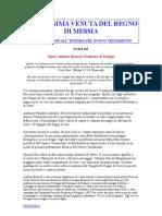LA PROSSIMA VENUTA DEL REGNO DI MESSIA, scritto dal Anthony Buzzard