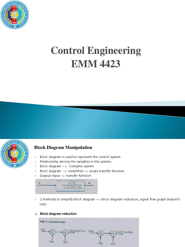 Control System Block Diagram Reduction Rules - Wiring Database