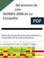 Reunión gerencial ISO Calidad