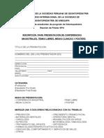 Reglamento mesas clínicas y posters