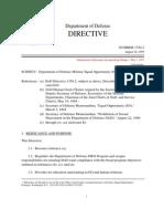 DoD Directive 1350.2