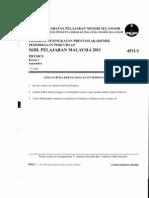 Selangor fiz K1 2011