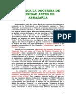 CONOZCA LA DOCTRINA DE LA TRINIDAD ANTES DE ABRAZARLA