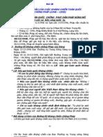 lịch sử lớp 12 -  Bài 18 - NHỮNG NĂM ĐẦU CỦA CUỘC KHÁNG CHIẾN TOÀN QUỐC CHỐNG PHÁP (1946 – 1950)