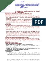 lịch sử lớp 12 -  Bài 22 - NHÂN DÂN HAI MIỀN TRỰC TIẾP CHIẾN ĐẤU CHỐNG ĐẾ QUỐC MỸ XÂM LƯỢC. NHÂN DÂN  MIỀN BẮC VỪA CHIẾN ĐẤU VỪA SẢN XUẤT  (1965 – 1973)