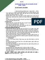 lịch sử lớp 12 -  Bài 26 - ĐẤT NƯỚC TRÊN ĐƯỜNG ĐỔI MỚI ĐI LÊN CHỦ NGHĨA XÃ HỘI (1986 – 2000)