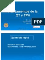 Quimioterapia y Trasplanet de Médula Ósea (12 y 13 noviembre). Presentación del profesor
