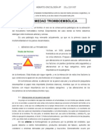 Dra. Lozano. Enfermedad tromboembólica (20 y 22.11.07). Olga