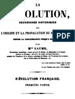 La Révolution (Tome 1)