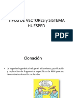 VECTORES y HUÉSPED