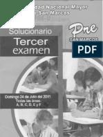 Tercer Examen Pre San Marcos 2011