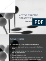 Active Trading Strategies