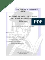 informe alfabetización