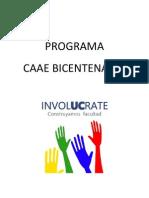 Programa Lista CAAE involUCrate