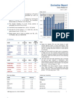 Derivatives Report 11th October 2011
