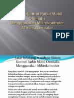 Sistem Kontrol Parkir Mobil Otomatis