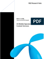 US Mobile Operators_Content Services