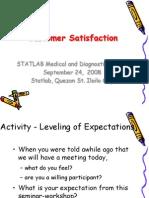 Customer Service Satisfaction_STATLAB 092408