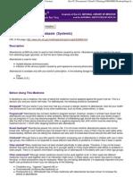 Albendazole (Systemic) (Print Version)