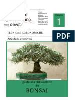 a Guida Alla Coltivazione Dei Bonsai - Giuseppe Sebastiano Devoti Stamp a Bile)