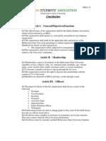 MISA Constitution