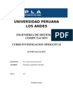 Trabajo de Investigacion Operativa-Autoevaluacion
