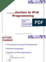 IPv6 API Programming
