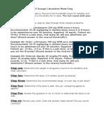 Drug Dosage Calc. Guidelines