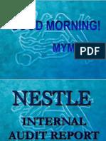 Nestle Internal Audit