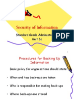 Security of Information 3c