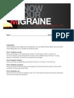 MyChronicMigraine-Detailed Migraine Diary