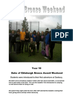 D of E Weekend Bronze HAG