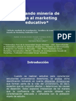 Aplicando minería de datos al marketing - simulacion