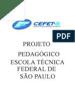 PROJETO PEDAGÓGICO DO CEFET-SP