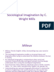 Sociological Imagination Lecture