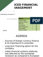 Advanced Financial Management Ppt