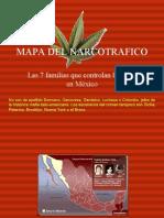 MAPA DEL NARCOTRAFICO