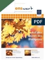 wissenswert 16 - Magazin der Leopold-Franzens-Universität Innsbruck