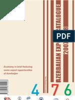 Azerbaijan Export Catalogue 2007-2008
