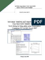 Bai Giang Tin Hoc Thong Ke Trong QLTNR - Dai Hoc
