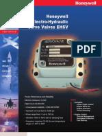 Honeywell Electro-Hydraulic Servo Valves EHSV