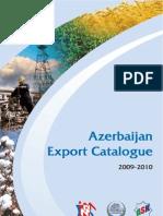 Azerbaijan Export Catalogue 2009-2010