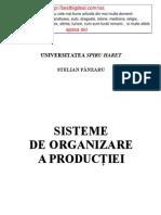 1. Panzaru S, Sisteme de Organizare a Productiei 2003