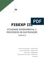 FISEXP III - Processos de Eletrização
