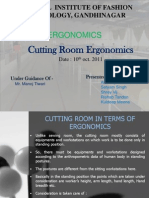 Cutting Room Ergonomics