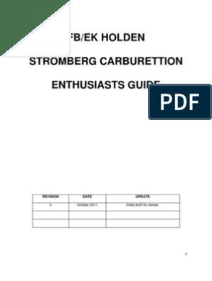 Carburettor Guide | Throttle | Carburetor