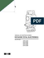 Manual Gts 220
