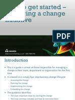 Starting a Change Initiative