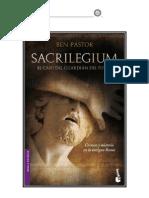 Sacrilegium El caso del Guardián del Fuego - Ben Pastor