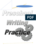 Preschool Writing Practice